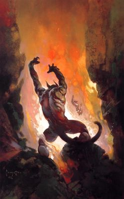 Frank Frazetta (Fire Demon HD)