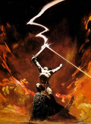 Frank Frazetta (Lightning Sword HD)