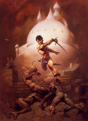 Frank Frazetta (Swords of Mars HD)