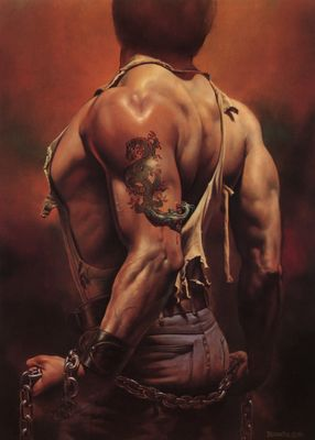 boris vallejo   mirage 29 tattoo