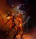 Boris Vallejo   Against the Odds