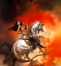 Boris Vallejo   Amazon Rider