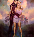 Boris Vallejo   Buffy Angel
