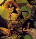 Boris Vallejo   Cat Women