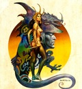 Boris Vallejo   Dragon Maiden
