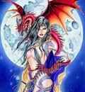 Boris Vallejo   Dragon Moon