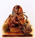 Boris Vallejo   Egyptian Warrior
