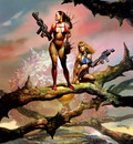 Boris Vallejo   Hunters(1)