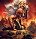 Boris Vallejo   Lady Demon
