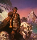 Boris Vallejo   Lord of the Wolves