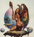 Boris Vallejo   Mirage 03 Fairie Queen Butterfly