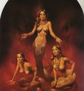 Boris Vallejo   Mirage 14 Snake Woman