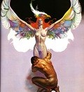 Boris Vallejo   The Flight