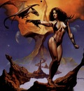 Boris Vallejo   Wamthii and Her World