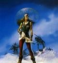 Boris Vallejo   Warrior on the Steppes