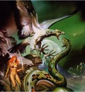 Boris Vallejo   White Eagle