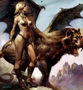 Boris Vallejo   Winged Beast
