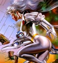 Boris Vallejo   X men Storm