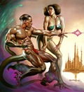 Boris Vallejo   Zhugs and Atawi