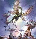Boris Vallejo   dragons birth