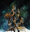 Boris Vallejo   queen of the amazons (1)