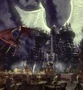 Giger   Final Fantasy IX  Bahamut vs Alexandre