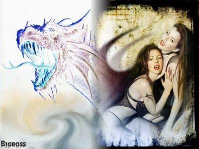 vampire dragon