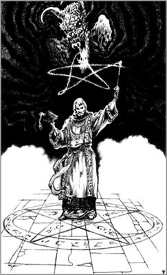 stephen e fabian the sorcerer and the daemons