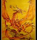Dragon of flame
