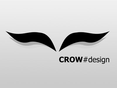 crow#design wallpaper