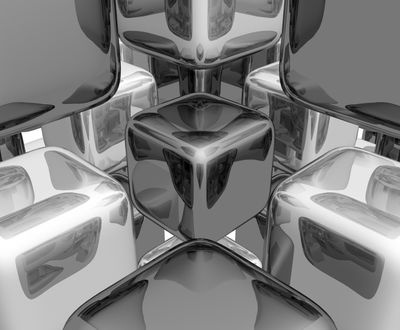 cubes black and white2