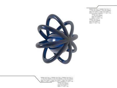Nuclei 1024 Blue