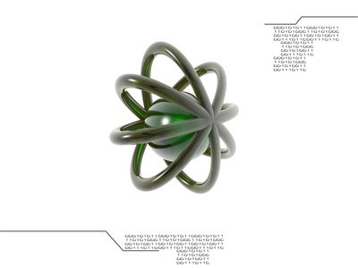 Nuclei 1024 Green