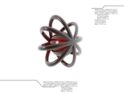 Nuclei 1024 Red
