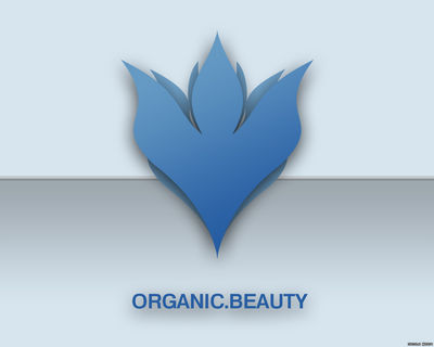 ORGANIC BEAUTY wallpaper blue