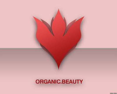 ORGANIC BEAUTY wallpaper red