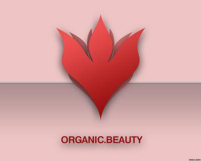 ORGANIC BEAUTY wallpaper red