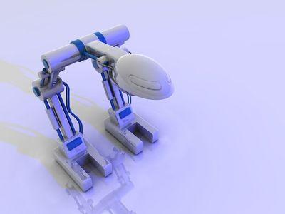 robot v3 blue