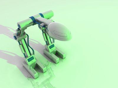 robot v3 green