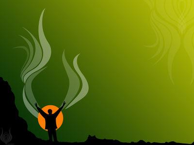 soaring spirit green