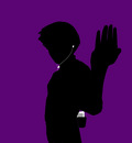 rock lee   ipod   purple