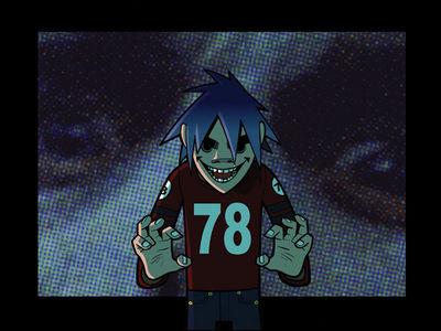 Gorillaz 2d Nosferatu