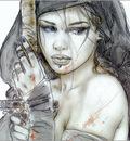 X Luis Royo  106 Sketch