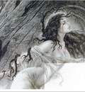 X Luis Royo  108 Mother Earth Detail
