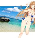 mirai wallpaper large iizuki bikini1