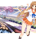 mirai wallpaper large spring