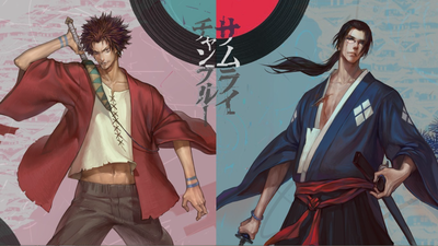 axis04  Axis  pixiv samurai champloo rival japanese clothes sword katana motion glasses ponytail character pose nonchalant badass wild expression large asian elegant flowing contrast style design technique quality