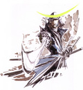 Sengoku Basara Devil Kings 9 artbook samurai helmet general sword katana scribbles