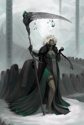 Winter Woman by GraySapphire