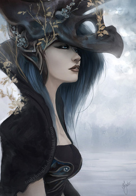 bluish black by milyknight d4sv33u